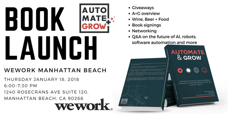 Automate & Grow Happy Hour Manhattan Beach, CA