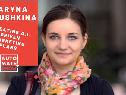 How to create marketing plans with A.I. instead of hiring an Agency? – Maryna Burushkina